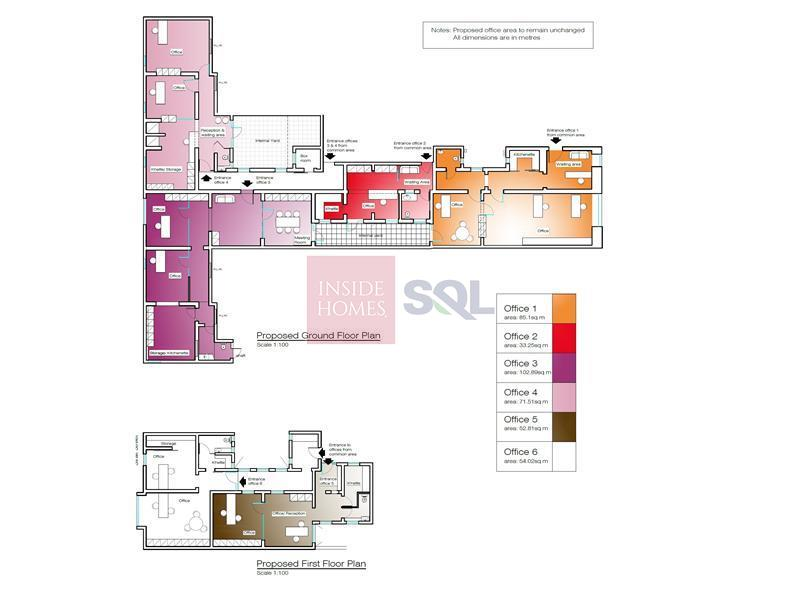Office Commercial in Valletta To Let