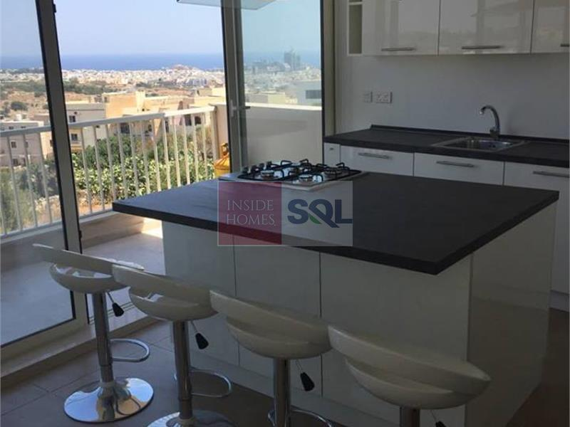 Penthouse in San Gwann To Let