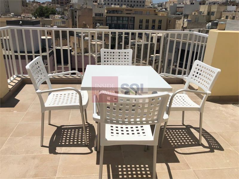 Duplex Penthouse in Sliema To Rent